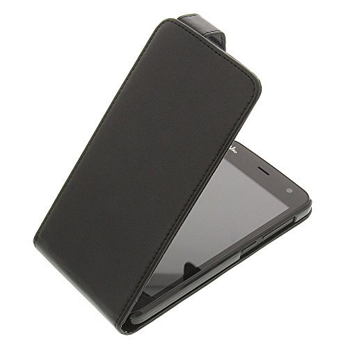 foto-kontor Tasche für Wiko Bloom Flipstyle Schutz Hülle schwarz