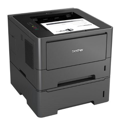 Brother HL-5450DNT Monochrome Laserdrucker (Duplex, 1200 x 1200 dpi, LAN) schwarz