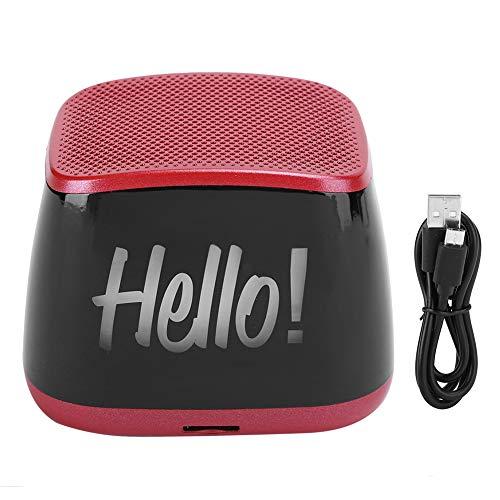 Weikeya Bluetooth 50 Altavoz, con El plastico Cáscara 100Hz-18khz 5v Inalámbrico Mini Altavoz por Bluetooth Audio conexión