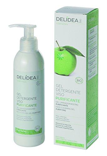 delidea Bio Gel Detergente Viso Cura klaerend mela e bambù, 1er Pack (1X 1pezzi)