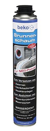 Schiuma per fontane (barattolo da 750 ml per NBS-PISTOLE)