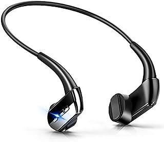 【版】 Bluetooth イヤホン 骨伝導 ヘッドホン スポーツ イヤホン 超軽量 ワイヤレス ヘッドセット ハンズフリー 8時間連続使用 防水防汗