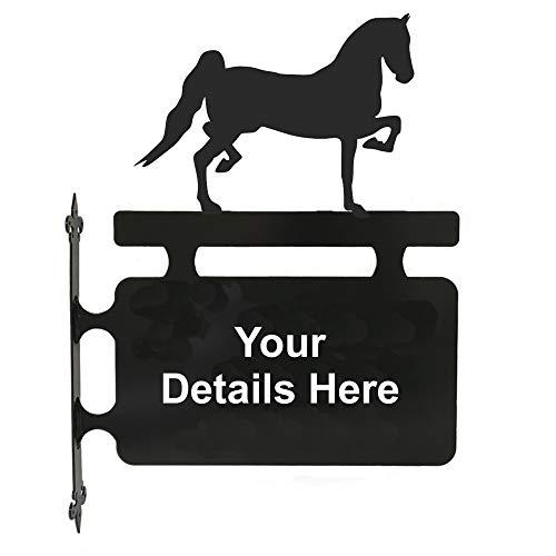 Stalen beelden paard Hackney paard opknoping teken