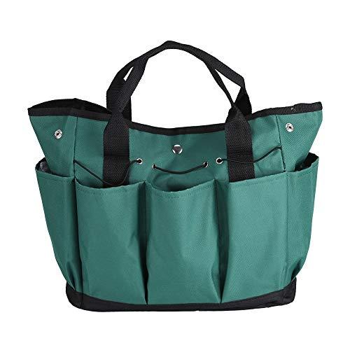 DFGH Garten Werkzeugtasche 600D Multifunktionsgarten Faltbare Hardwaretasche Organizer Bag Tool