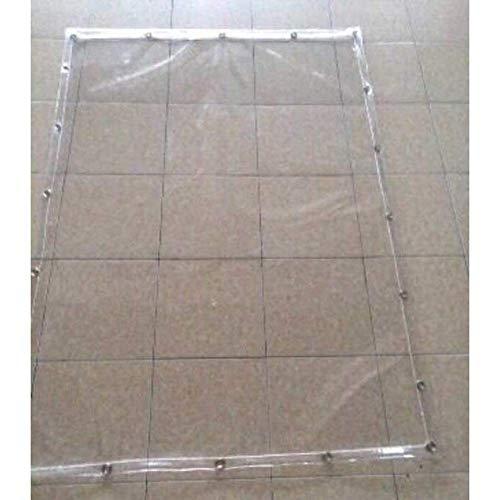 Busirsiz Cubiertas de plástico de PVC resistente a la lluvia para exteriores, grosor de 0,5 mm/1 mm, fácil de instalar, adecuado para exteriores, senderismo y