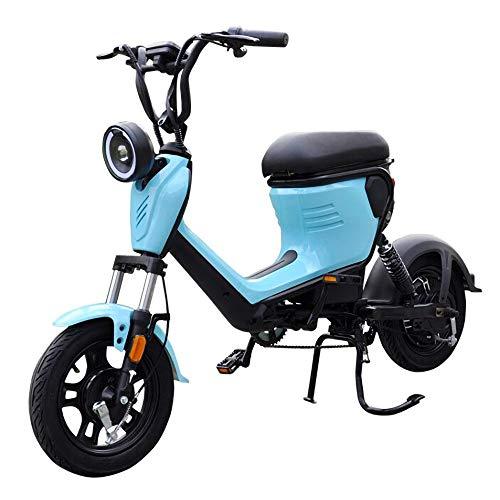MRMRMNR Patinete Electrico Adultos Bicis Electricas Mujer 48V 400W Bicicleta Adulto Hombres...