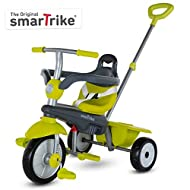 smarTrike Breeze Toddler Tricycle for 1,2,3 Year Olds - 3 in 1 Multi-Stage Trike