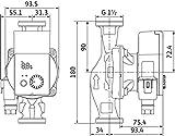 Wilo 4215515 YONOS PICO 25/1-6-(ROW) Pumpe, 240 V, Grün - 5