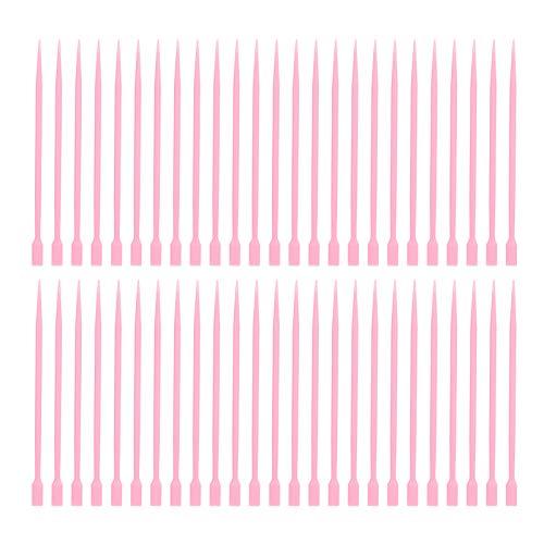 50 Pièces Faux Cils Outil de Bâton Permanent Faux Cils Outil de Greffage avec Cuillère à Colle Chaude Outil de Bâton de Rehaussement de Cils Kit de Rehaussement de Cils Fournitures D'extension de Cils