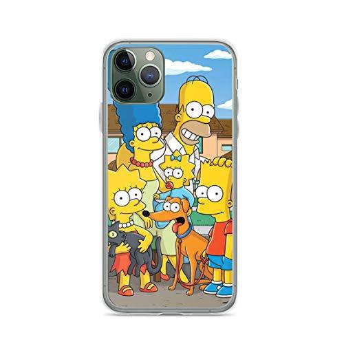 FGHSFRT Funda para teléfono móvil The Simpsons compatible con iPhone 6 Plus / 6s Plus