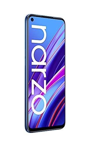 realme narzo 30 (Racing Blue, 4GB RAM, 64GB Storage) - MediaTek Helio G95 processor I Full HD+ display with No Cost EMI/Additional Exchange Offers
