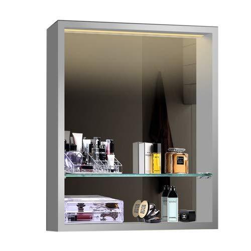 Design badkamerspiegel spiegelkast spiegelrek LED-verlichting LKJ60X75