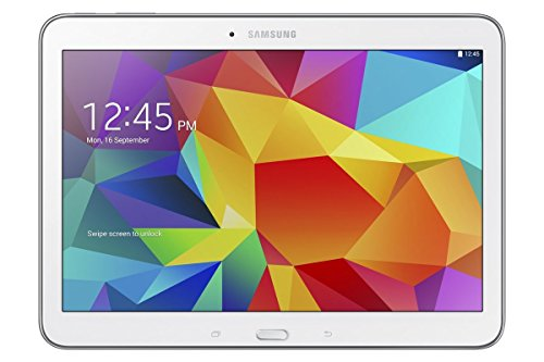 Samsung Galaxy Tab 4 10.1-inch Tablet (White) - (Quad Core 1.2GHz, 1.5GB RAM, 16GB Storage, Wi-Fi, Bluetooth, 2x Camera, Android 4.4) (Refurbished)