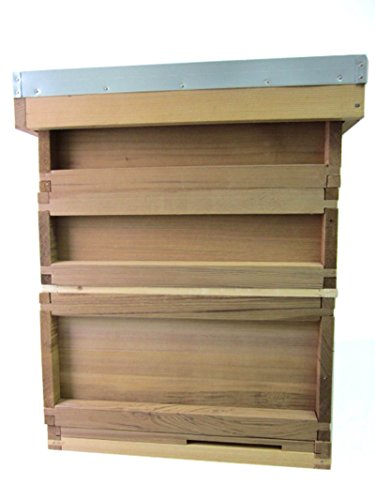 Easipet National Bee Hive Cedar with two supers - 175