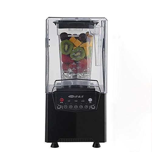 Ice crusher Mode Milk Tea Shop Silent Smoothie mit Abdeckung Hochleistungs-Haushalts-Eisrasiermaschine Hochgeschwindigkeits-Rotationssaftpresse