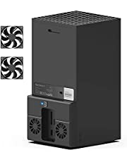 Ventola di raffreddamento USB per console Xbox Series X, sistema di raffreddamento per Xbox Series X con 2 ventole di raffreddamento e porta USB 2.0 - Solo per Xbox Series X