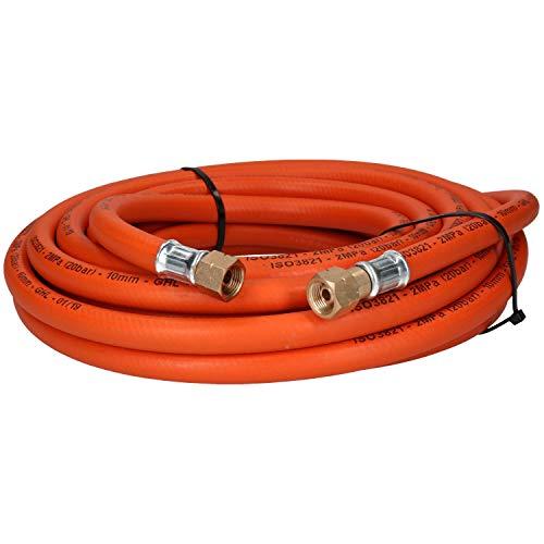 Solo propano cabido tubo de manguera de goma corte y soldadura 10M 3/8' gas BSP
