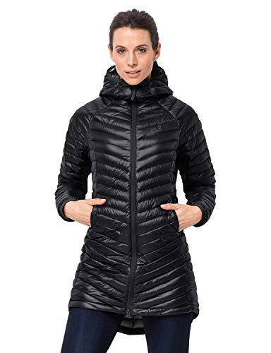 Jack Wolfskin Damen Atmosphere Coat W Mantel, Black, M