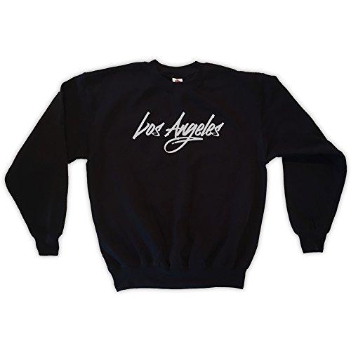 Outsider. Herren Unisex Los Angeles Sweatshirt - Schwarz - L
