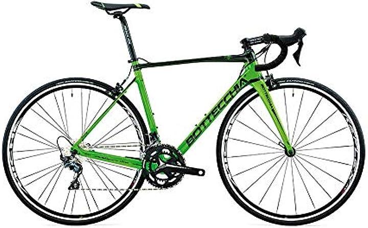 Bicicletta mtb 8avio revo ultegra mix 22s nero verde h51 bottecchia bici B07PB33GF4