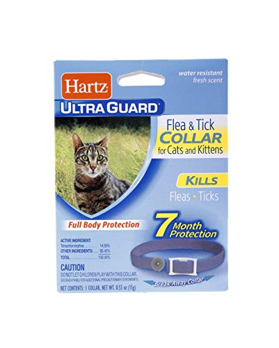 Hartz UltraGuard Purple Flea & Tick Collar for Cats and Kittens - 7 Month Protection