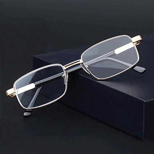 Lesebrille for Männer, Sehhilfe Brillen, Outdoor-Reader, 1.50