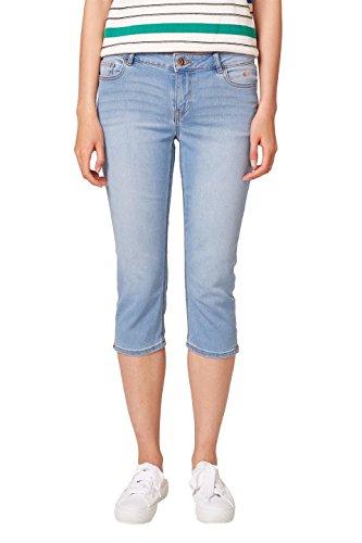 edc by ESPRIT Damen 038CC1B009 Slim Jeans, Blau (Blue Light Wash 903), 28