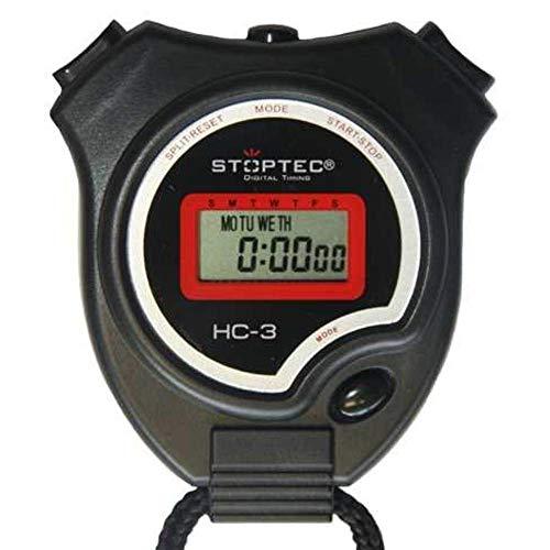 Schütt Stoppuhr Stoptec HC-3 - Digitale Stoppuhr | Hobby | Sport | Freizeit | spritzwasserfest | für Kinder geeignet