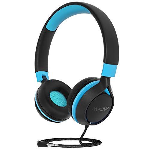 Kinder Kopfhörer,Mpow CHE1 kopfhörer Kinder,94 dB Lautstärkebegrenzung Kabelkopfhörer für Jugendliche mit Lautstärkebegrenzung,Faltbare einstellbare,für Schule,Reise, Kompatibel mit Handys,Tablets,PC