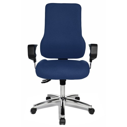 TOPSTAR Fitness-Drehstuhl Sitness 55, blau Bezugsstoff Nord Wool, dunkelblau