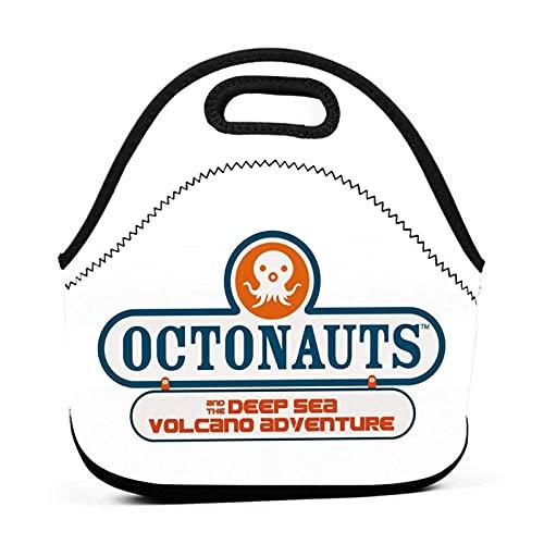 The Octonauts - Lonchera con aislamiento,caja bento portátil,bolsas reutilizables,fiambrera para hombres/mujeres/niños,fiambrera a prueba de fugas para el trabajo,la escuela,picnic,viajes,playa