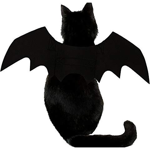 Qiaoniute Costume Ali di Pipistrello per Cane, Accessori per Il Festival di Halloween