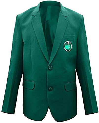 Mens Master Golf Tournament Green Blazer Coat Jacket (M)