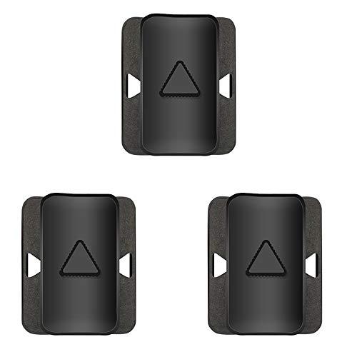 CareMont Clip de Montaje Lateral para Monitor Dual, Soporte para Monitor con Pantalla Dual y Soporte para Tableta para Su Computadora PortáTil (Paquete de 3)