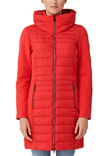 s.Oliver RED Label Damen Steppmantel mit Softshell-Details red 42