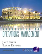 Principles of Operations Management and Student CD-ROM (5th Edition)