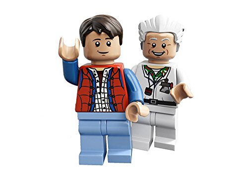 LEGO Ideas Cuusoo Minifigures - Doc Brown & Marty McFly (21103)