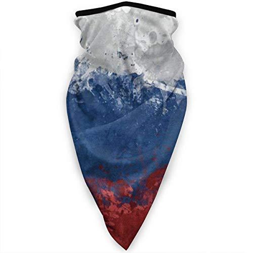 Tzshak Vintage russische Flagge Unisex Winddichte Schädel Gesichtsmaske Bandana Casual Sturmhaube Hals Gamasche Kopfbedeckung UV-Schutz