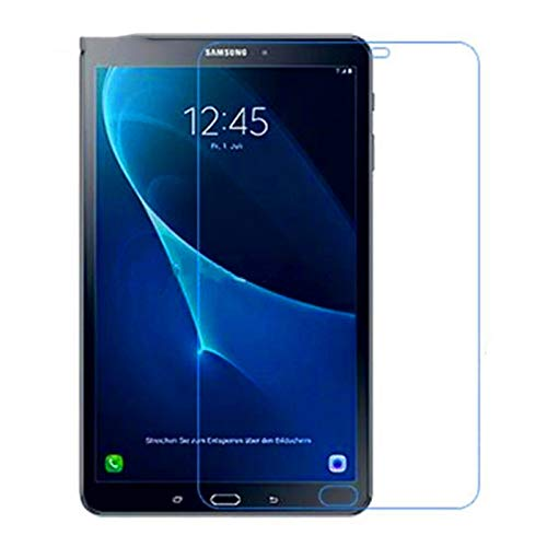 BHPP Kpbhd Vidrio Templado for Samsung Galaxy Tab A 7.0 8.0 9.7 10.1 T280 T285 T350 T355 T550 T555 T580 T585 A6 P580 Pantalla de Tableta Protector (Color : P585 P580 with Pen)