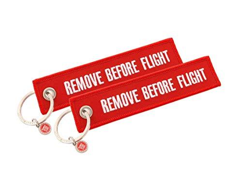 Classic-Anhänger - Remove Before Flight - 2 Stück