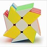 Gobus YONGJUN YJ 3x3 Windmill Cube Wheel Shape Mod Shape Twisty Puzzle (Stickerless)