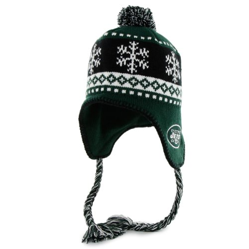 '47 Men's York Jets Abomination Knit Hat w/Tassle One Size Fits All