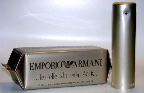 Emporio Armani She Parfum von Giorgio Armani 100 ml Eau de Parfum Spray für Damen