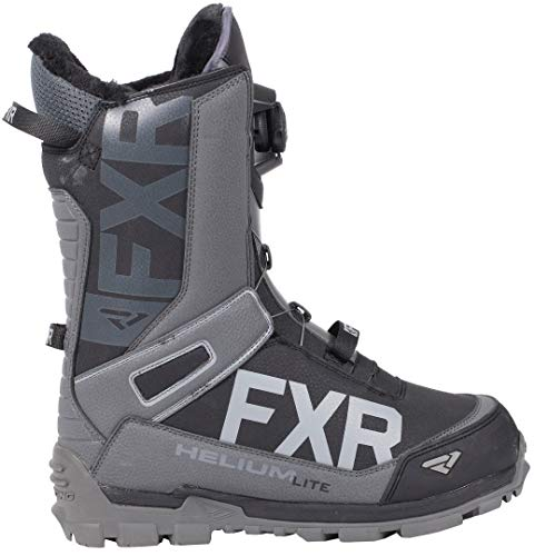 FXR Helium Lite BOA Boot (Black/Charcoal, Mens 9 / Womens 11)