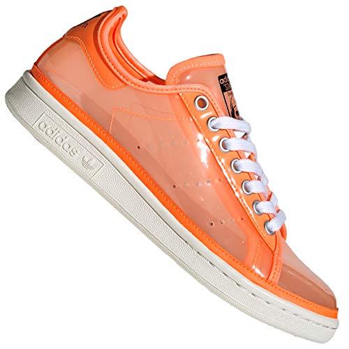 adidas Originals Stan Smith Jelly FW9930 - Zapatillas para mujer, color naranja neón, color Naranja, talla 41 1/3 EU