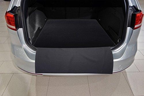 tuning-art 2606 Auto Kofferraummatte mit Ladekantenschutz 2-teilig