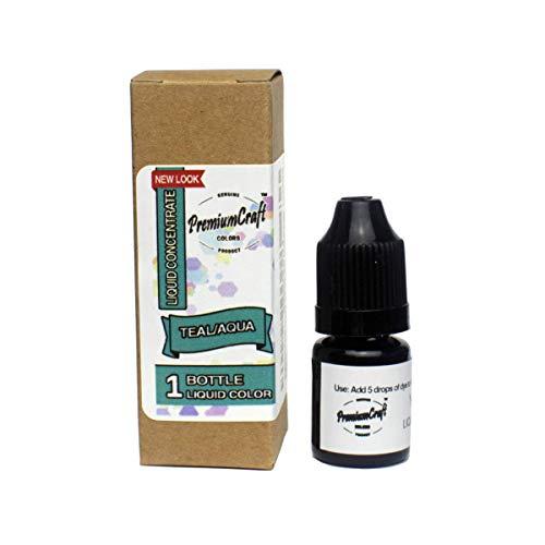 PremiumCraft Liquid Candle Dye Concentrate, Teal/Aqua