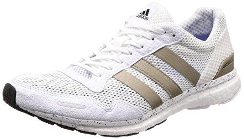 adidas Adizero Adios, Zapatillas de Running Hombre, Blanco (Ftwwht/Cybemt/Cblack), 49 1/3 EU