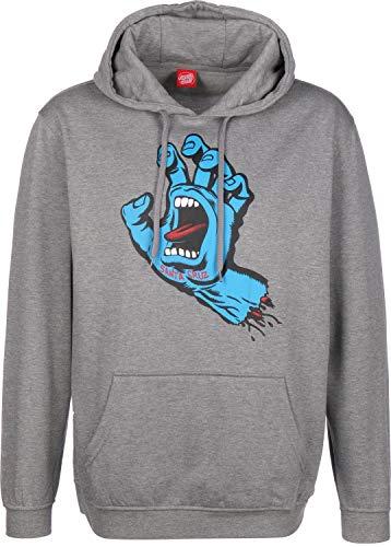 Sweats À Capuche Santa Cruz – Screaming Hand gris taille: XL (X-Large)
