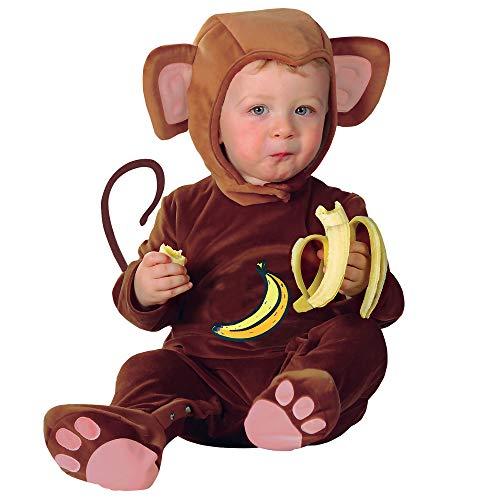 Widmann CS805110 2756M - Kostüm Baby Affe